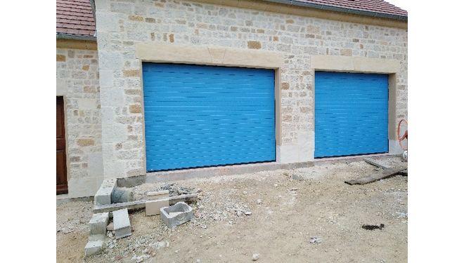 Pose de portes sectionnelles (Isère)